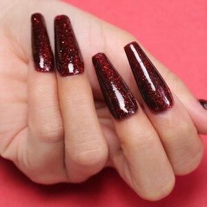 Image 5 - AZURE BEAUTY 30 шт./лот, полный набор, градиентный цвет, окунающий порошок, набор кистей для дизайна ногтей, Holo, блестящий порошок, блестящий порошок для ногтей, набор для пудры