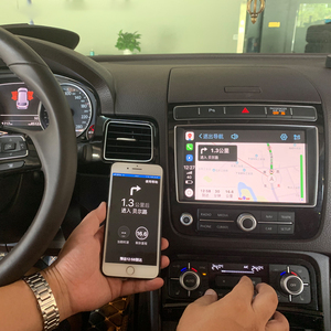 Image 5 - Joyeauto Apple Carplay inalámbrico Wifi para coche, para Volkswagen Touareg, 2010 2017, 8 pulgadas, Android Mirror, compatible con cámara delantera/trasera