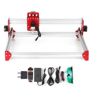 Image 3 - A3 Laser Machine DIY Desktop Mini Laser Graveermachine LiteFire A3 Software 500 mw/2500 mw/5500 mw 3040 Metalen Frame Cnc Router