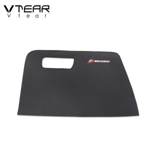 Image 4 - Vtear For Changan CS35 Plus Glove box anti kick cover Car Frame styling stickers interior decoration Trim accessories parts 2020