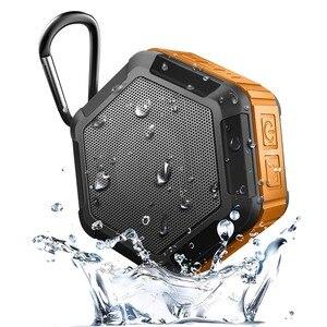 Image 3 - 充電式ミニポータブルアウトドアスポーツワイヤレスIP67防水のbluetooth 4.2 + edrスピーカーシャワー自転車スピーカー