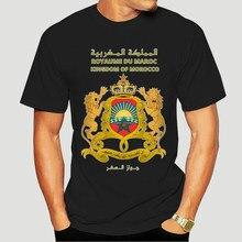 Camiseta unissex padrão do reino de marrocos 2294x
