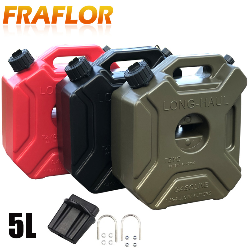 Gas-Spare-Container Barrels Can Fuel-Tank-Pack Jerrycan Petrol-Cans Polaris Green 5L
