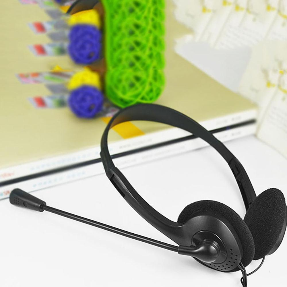 New Wired Headphones With Microphone Headsets Bass HiFi Sound Music Stereo Earphone For Computer Gamer PC 3.5mm Gaming Headset