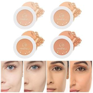 Makeup Setting Pressed Powder Pores Invisible Mate Matte Compact Powder Oil Natural Control Face Cosmetics Finish B2F3