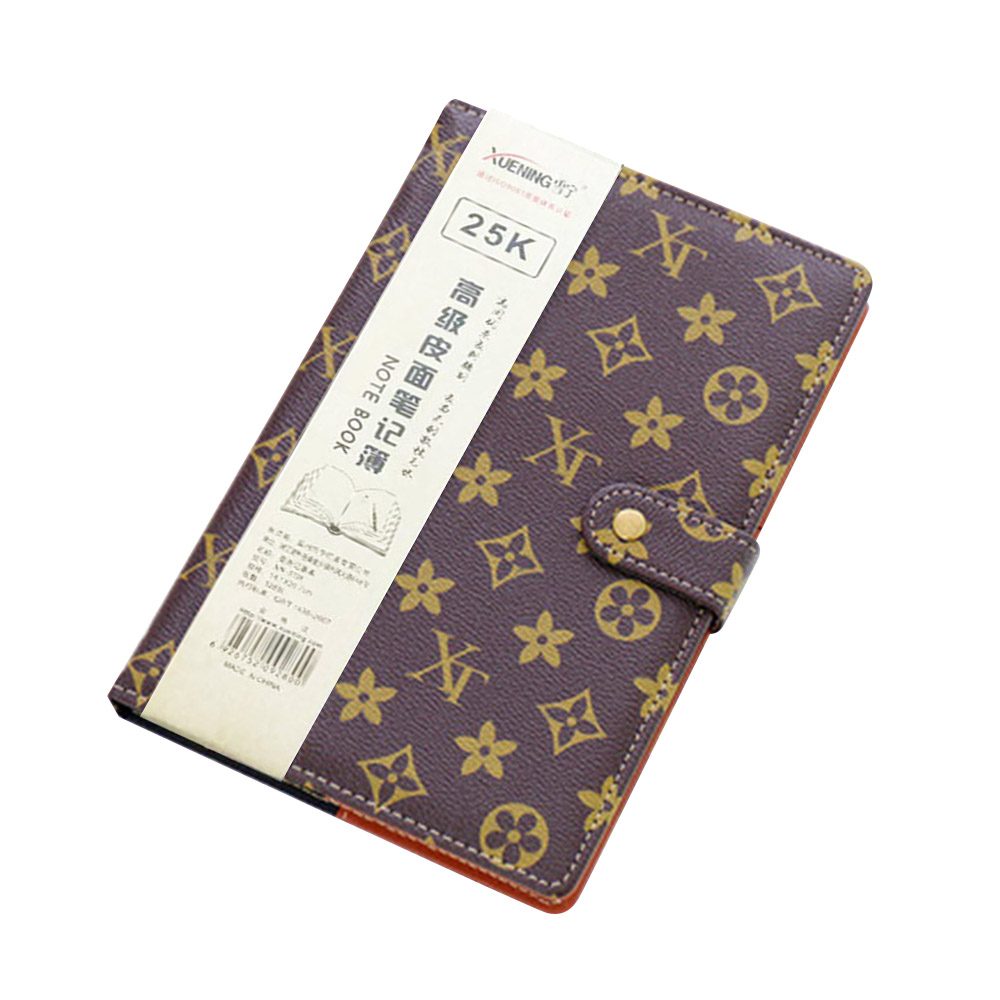 25K HEETON Luxury Classic Notebook A6 A5 B5 Hardcover Notebook Business Notepad 1PCS