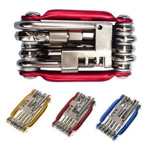 Bicycle Repair Tools 11 in 1 Multi Function Bicycle Tool Kit Bike Cycling Spanner Wrench Repair Set Bicycle Accessories Hot Sale