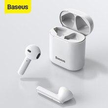 Baseus TWS Drahtlose Bluetooth Headsets Kopfhörer Gaming Headset Stereo Sport Kopfhörer Mit Mic für Alle Smartphone