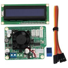 цены NanoDLP Shield V1.1 Expansion Board With DRV8825 Controled MOS + LCD1602 16X2 LCD With I2C 1602 LCD Module Blue Screen