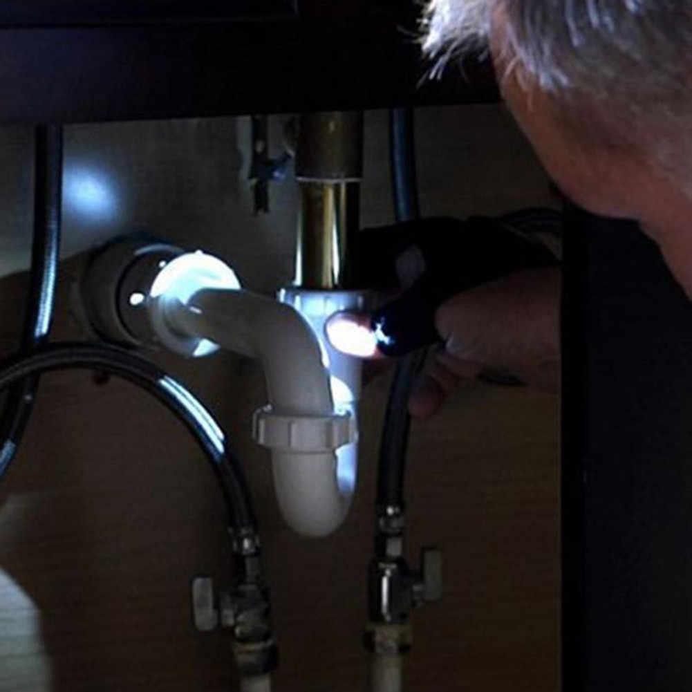 Doigt lumière nuit pêche gant avec lumière LED outils de sauvetage en plein air vitesse survie Camping randonnée sauvetage outil