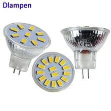 lampade gu4 mr11 led 12v 24v spotlight 1W 2W super glass cup Diameter 35mm spot bulb light Ac Dc 12 24 volt energy saving lamp цена