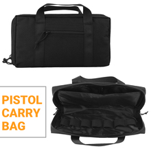 Tactical Pistol Carry Bag Outdoor Portable Military Handgun Holster Pouch Durable Soft Padded Magazine Case Nylon