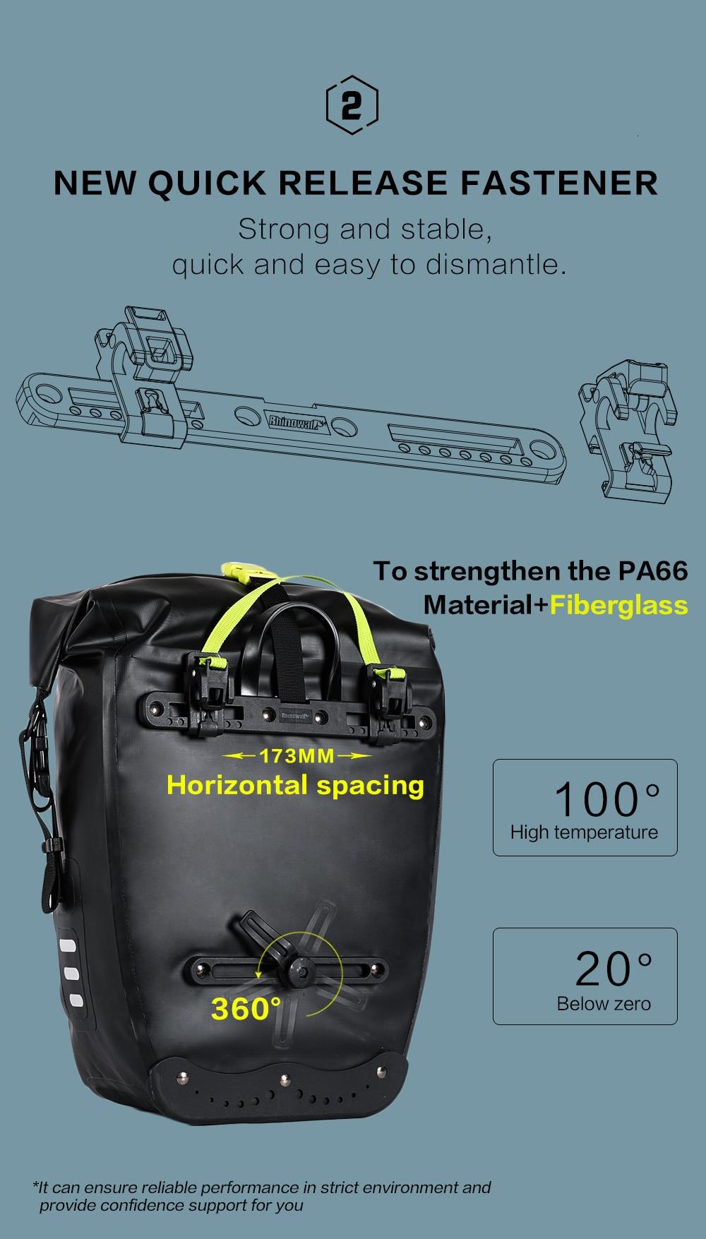 Waterproof Bike Pannier Bag (8)