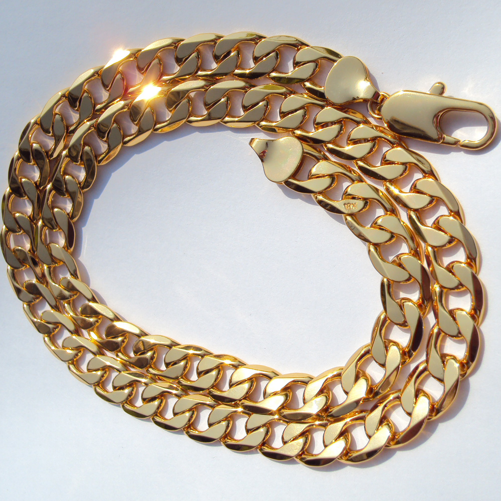 Wheel Handmade 18k Solid Yellow Gold Chain Mango Shape Sold by 1pcs Stunning 18k Yellow Gold Link Chain in Shiny Finish TAN0544 1.5 inch
