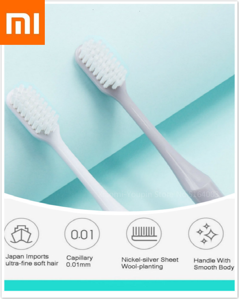 New Xiaomi Product Dr B Green Edition Toothbrush Lovers Business Portable Fur Toothbrush Xiomi Better Brush For Daily Cleaning image