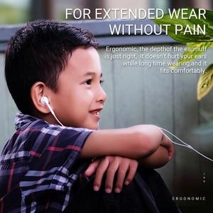 Image 5 - hoco earphone headset 3.5mm wire in ear earphone with microphone for xiaomi samsung hifi earphones with mic mini ear phone 3.5