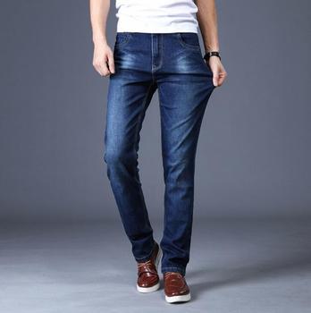 2020  Business Straight Jeans Stretch Denim Men Jeans Denim Pants On Hot Sales
