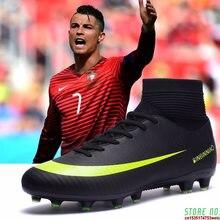 Buty piłkarskie do użytku w pomieszczeniach dla mężczyzn korki dla dzieci trampki sportowe oryginalne TF AG kolce piłkarskie korki Futsal męskie korki
