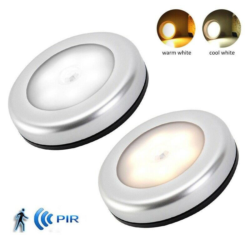 LED Night Light Magnetic Wireless Detector Light Wall Lamp Battery Powered Motion Sensor Light Auto On/off Cabinet Stairs Light