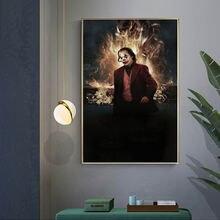 Картина из больших фильмов клоуна картина для украшения гостиной