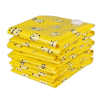 New High Quality Home Vacuum Storage Bags Space Saver Bag Vacume Pack Storage Bags for Clothes Reusable Bags image