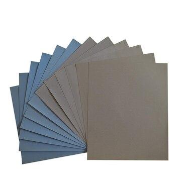 Grit 1500 2000 2500 3000 5000 7000 High Precision Polishing Sanding Wet/dry Abrasive Sandpaper Sheets - Germany, Pack of 12