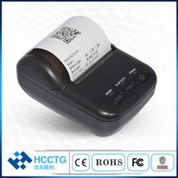 Mała przenośna drukarka termiczna USB + Bluetooth 58mm HCC-T12