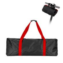 Skateboard Waterproof Storage Canvas Wear Resistant Portable With Strap Tote Zipper Shoulder For Xiaomi M365 Electric Scooter(China)