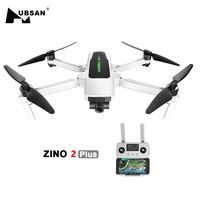Hubsan Zino 2 Plus + GPS Drone con 4K 60FPS UHD WiFi Cámara FPV Quadcopter 3 ejes cardán 9KM 35 minutos Dron del SG906 2 MAX