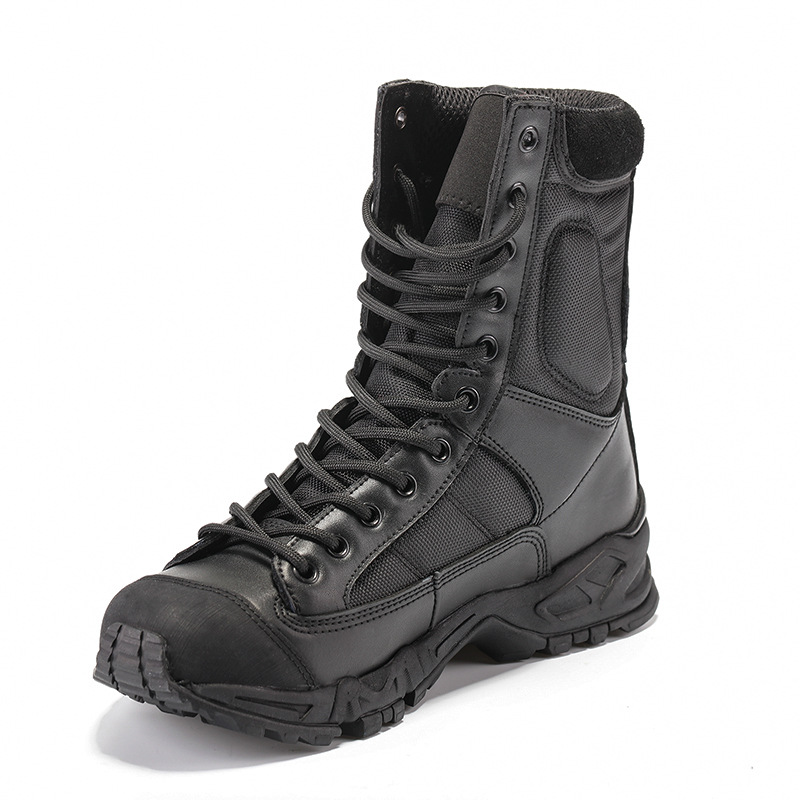 2019 New Air-breathing Summer Military Boots Men's Ultra-light Combat Boots Men's Outdoor Mountaineering Special Service Shoes