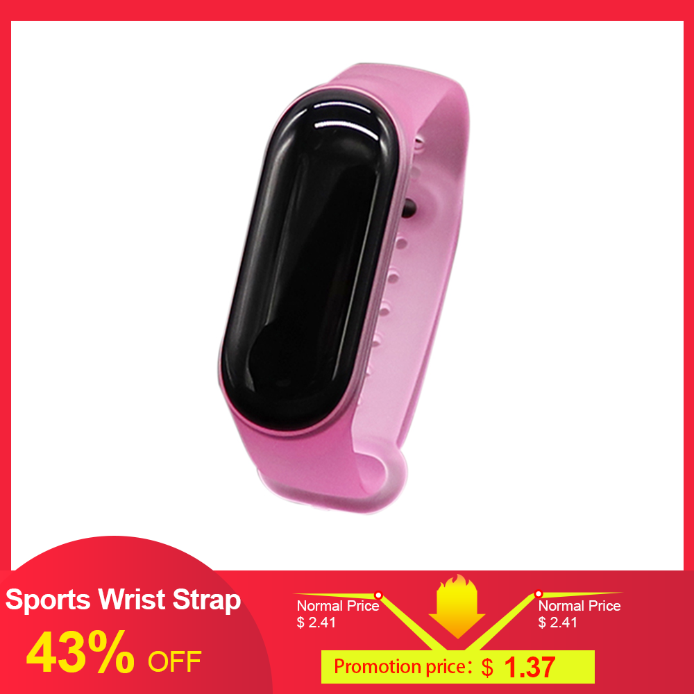 Replacement Sports Wrist Strap Band For Xiao-Mi Band 3/4 Universal Wrist Straps Green  Watch Running Pedometer Bracelet