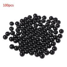 100pcs 3-12mm Black Safety Doll Eyes Sewing Beads For DIY Bear Stuffed Toys Scra