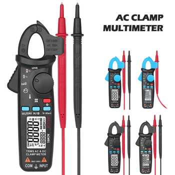 цена на BSIDE ACM Mini Digital Clamp Meters Multimeter True RMS DC AC Current Voltage Ohm Temp Capacitance Hz NCV Tester Ammeter