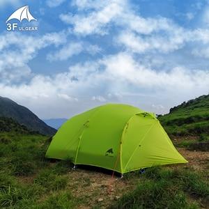 Image 4 - 3F UL GEAR Qingkong 4 человека 3 4 сезон 15D палатка для кемпинга на открытом воздухе Сверхлегкая походная альпинистская охота водонепроницаемая QingKong4