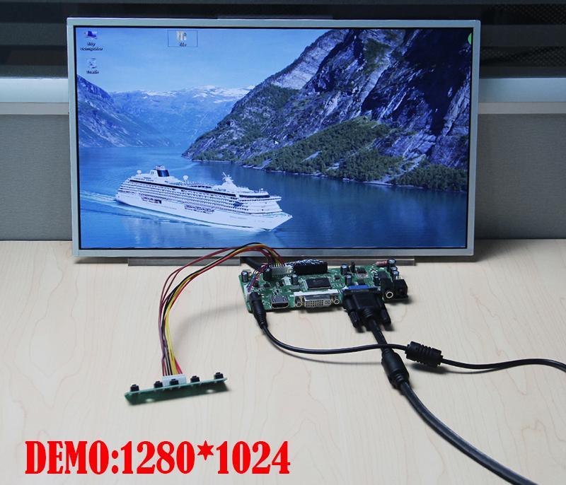 HDMI+DVI+VGA Controller Board Driver kit for LCD Panel B154PW04 V6