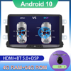 DSP 4 Гб + 64 Гб PX6 автомобильный мультимедийный плеер 1 Din Android 10 автомобильный радиоприемник для Dacia/Sandero/Duster/Captur/Lada/Xray 2/Logan 2 GPS Navi