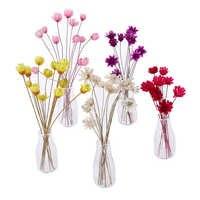 1 Juego de minijarrones de flores, modelos de contenedor, casa de muñecas, modelo de jarrón, accesorios de decoración para modelos de casa, muebles en miniatura, Juguetes
