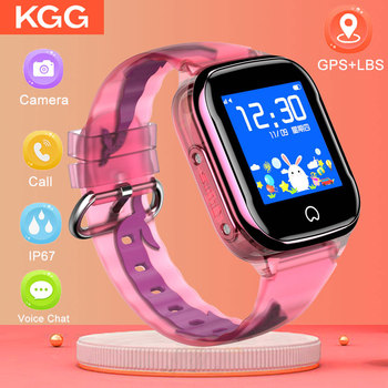 K21 Smart GPS Watch Kids 2019 New IP67 Waterproof SOS Phone Kids Smart Watch Children Clock Fit SIM Card IOS Android Wristwatch 1