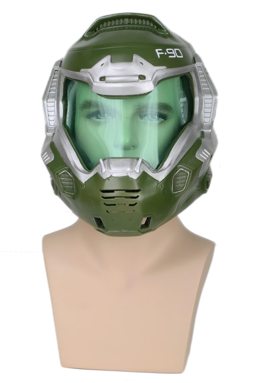 Coslive Doom Doomguy Resin Cosplay Mask Full Head Helmet Cosplay