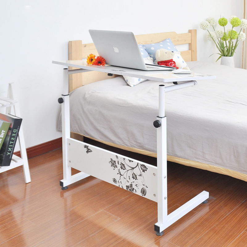 [Manufacturers Direct Selling] Tiltable Bedside Laptop Table Minimalist Modern Household Bed Item Desk Floor Shelf