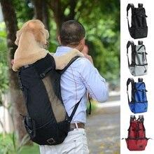 Pet-Dog-Carrier-Bag Golden Retriever Backpack Travel-Bags Dogs Adjustable for Large Bulldog