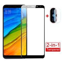 Pour xiaomi redmi 9 10X Pro 5 verre trempé couverture complète prime protecteur décran redmi 5 plus Note5Pro téléphone film de protection en verre