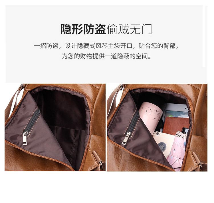 H0623d97bfdd642508576796399f766abp 2019 Women Leather Anti-theft Backpacks High Quality Vintage Female Shoulder Bag Sac A Dos School Bags for Girls Bagpack Ladies