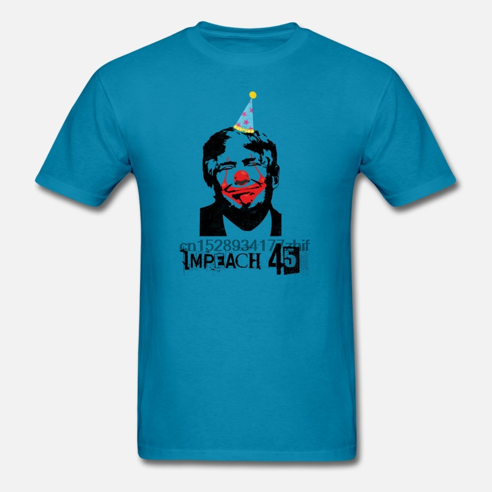 Men t shirt Anti Trump USA President Clown Impeach 45 Gift(6) tshirts Women-tshirt