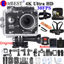4K Экшн-камера F60/F60R с дистанционным управлением Wi-Fi 2,0 lcd 170D объектив камера на шлем Подводная Водонепроницаемая видеокамера 1080P@ 60fps
