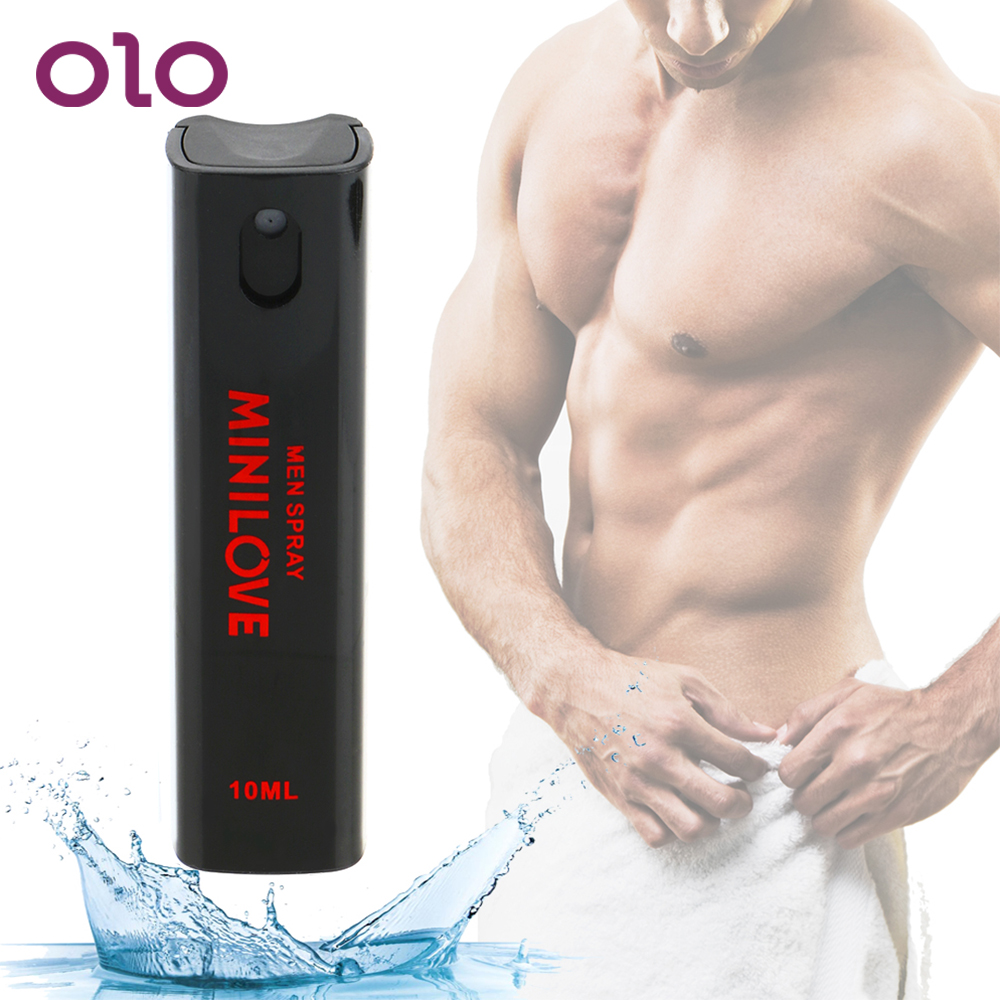 OLO 10mL Sex Delay Product For Men Woman Aphrodisiac Sex Love Climax Spray Penile Erection Spray Lasting Spray Delay Ejaculation