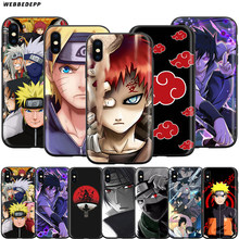 Webbedepp Hokage Naruto Kakashi Caso per Il Iphone di Apple 11 Pro Xs Max Xr X 8 7 6 6S Plus 5 5S Se(China)