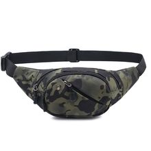 Outdoor Fanny Pack Mens Tactical Waist Bag Phone Pouch Belt Shoulder Bags Chest Bumbag