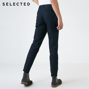Image 3 - Wybrany męski jesień Slim Fit elastyczny bawełniany w paski spodnie S