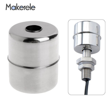 Mk 28 * 9.5 Water Flow Sensor Magnetic Float Liquid Level Switch Ball Stainless Steel Floating Accessories